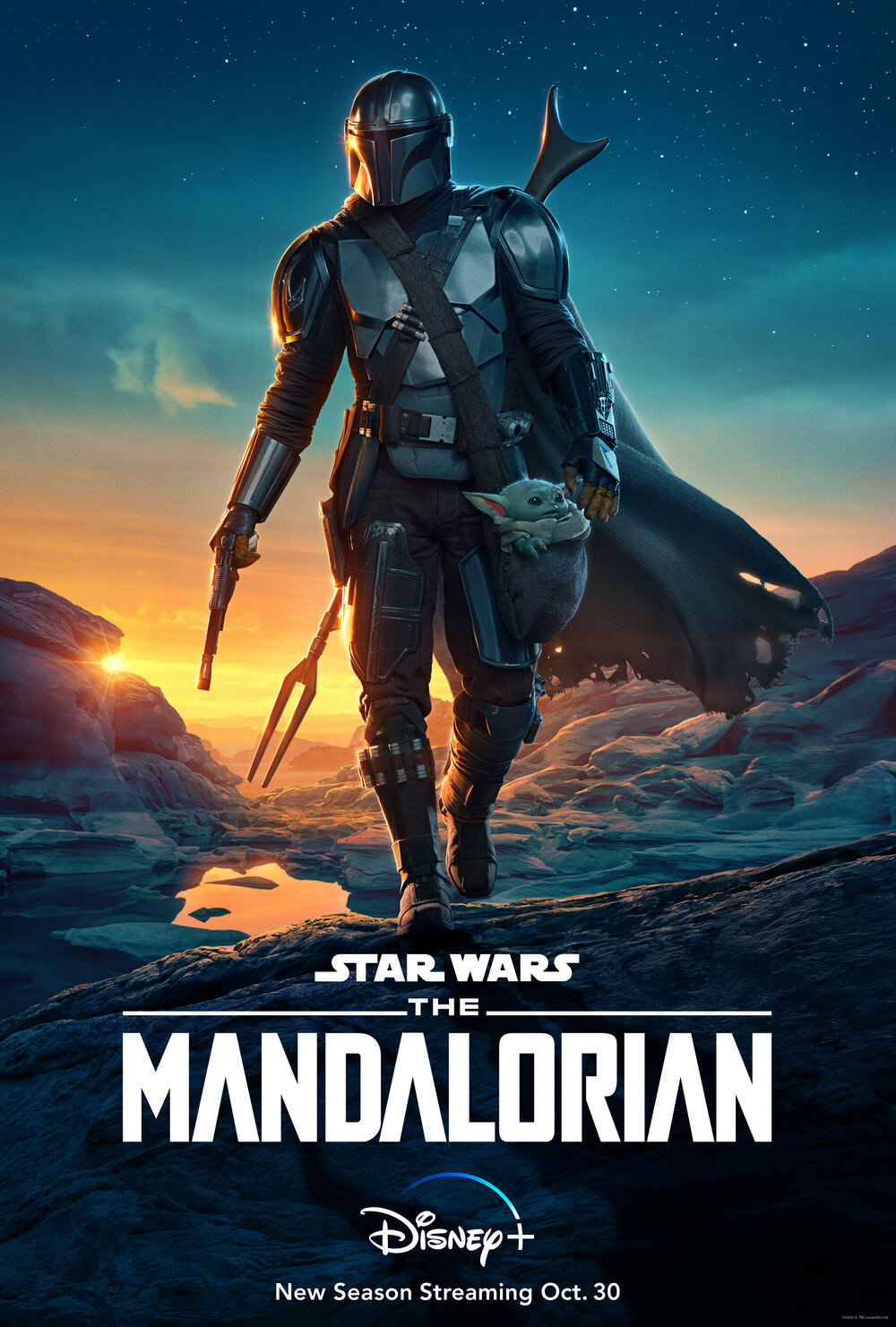 cool-poster-art-for-lucasfilms-the-mandalorian2