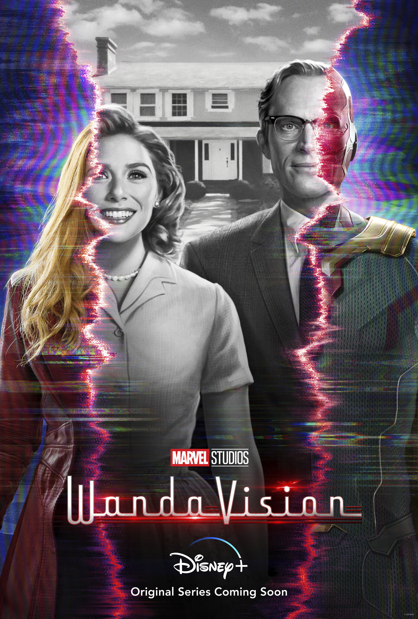 Great First Trailer and Poster For Marvel's WANDAVISION Disney+ Series1