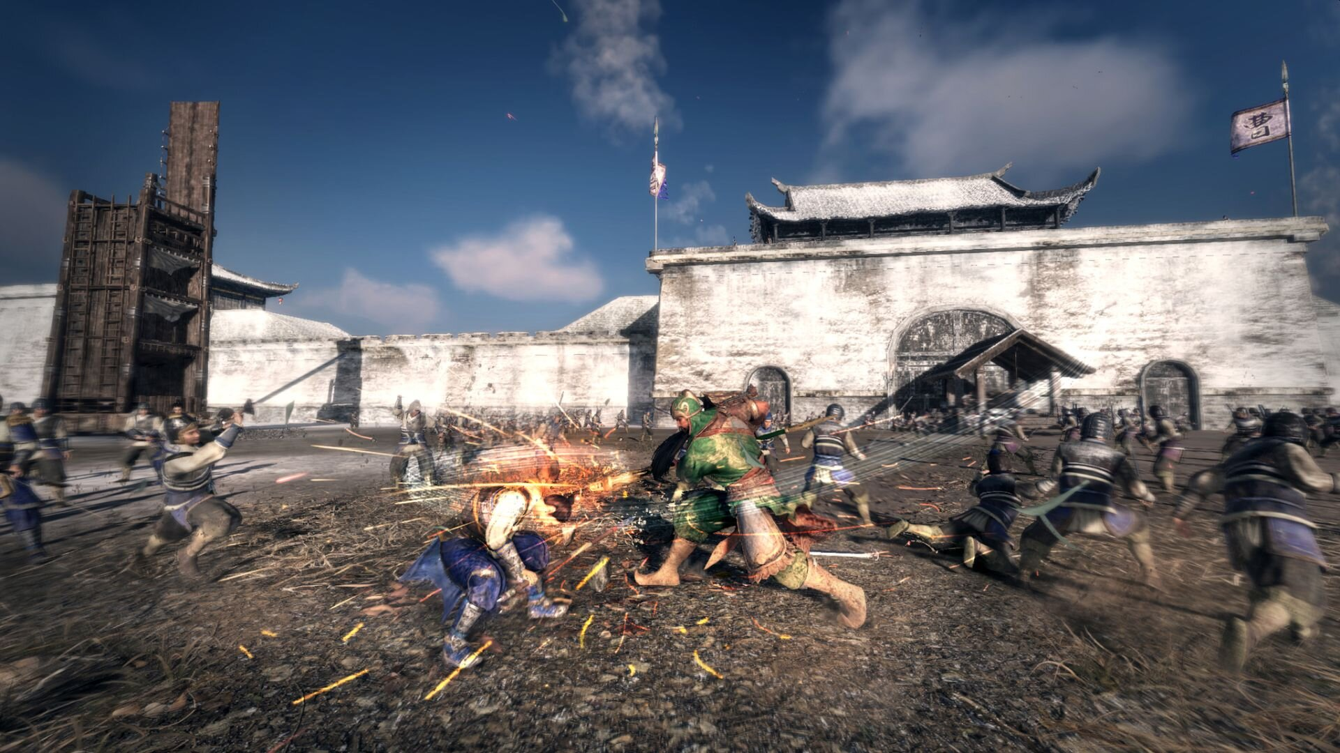 Watch The New Trailer For Dynasty Warriors 9 Empires Now Geektyrant