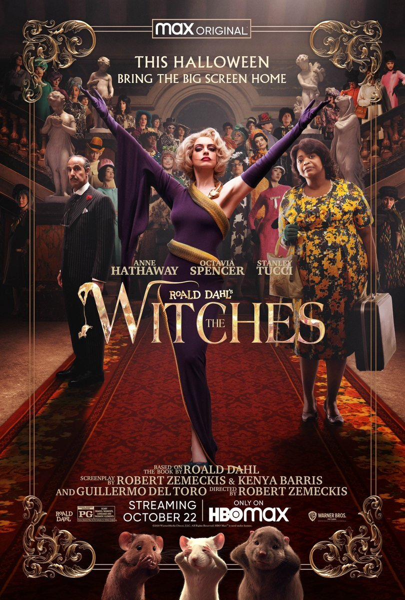 Fantastic Trailer For Robert Zemeckis' Film Adaptation of THE WITCHES Coming To HBO Max4