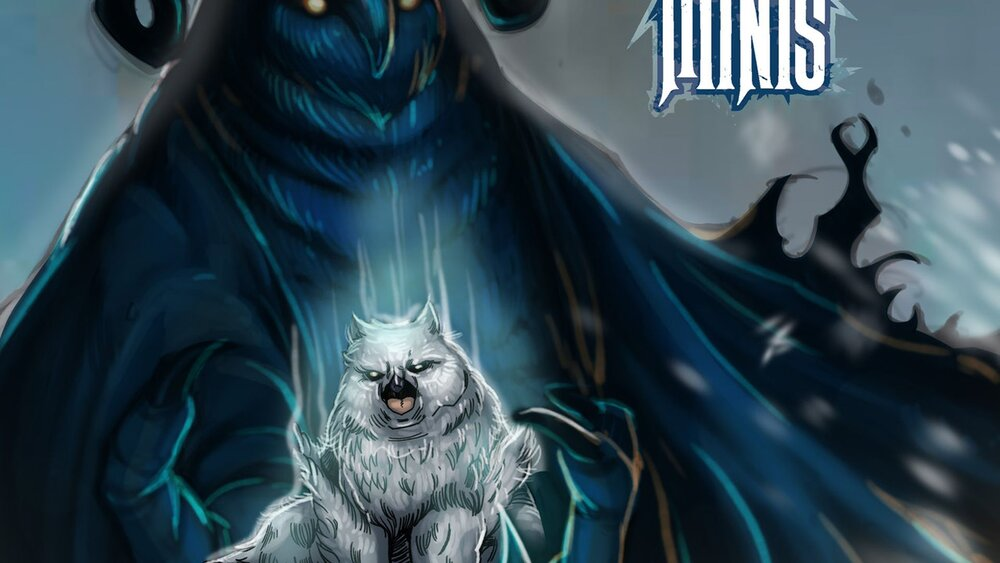 Get More Out of Your Owlbear Minis with SNOWY OWLBEAR - FIGHT YOUR MINIS: ICEWIND DALE: RIME OF THE FROSTMAIDEN