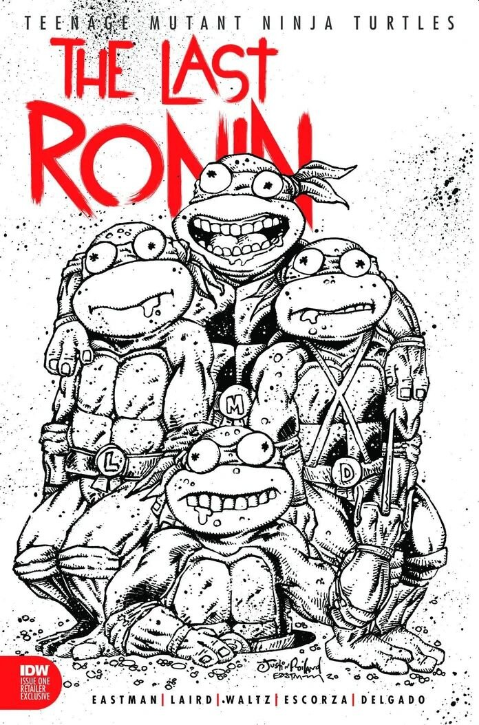 Art by Justin Roiland | Inks by Kevin Eastman