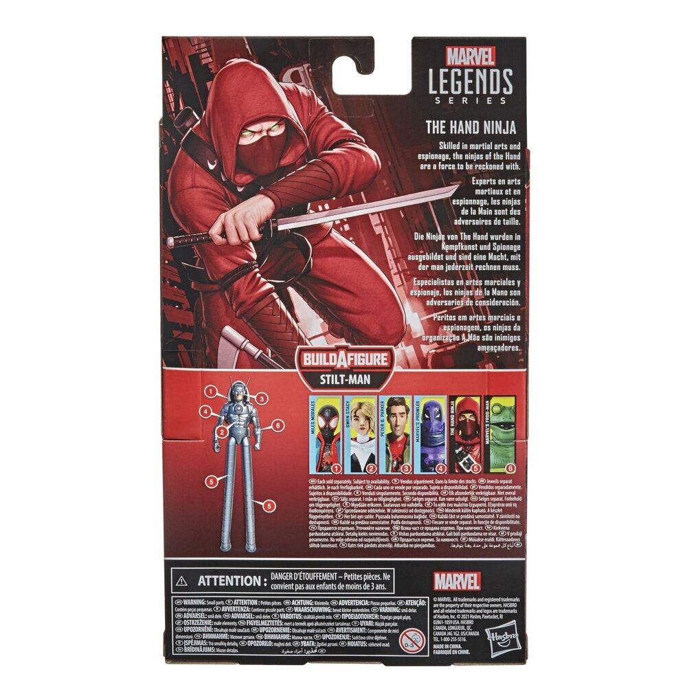 MARVEL LEGENDS SERIES SPIDER-MAN 6-INCH THE HAND NINJA Figure - pckging.jpg