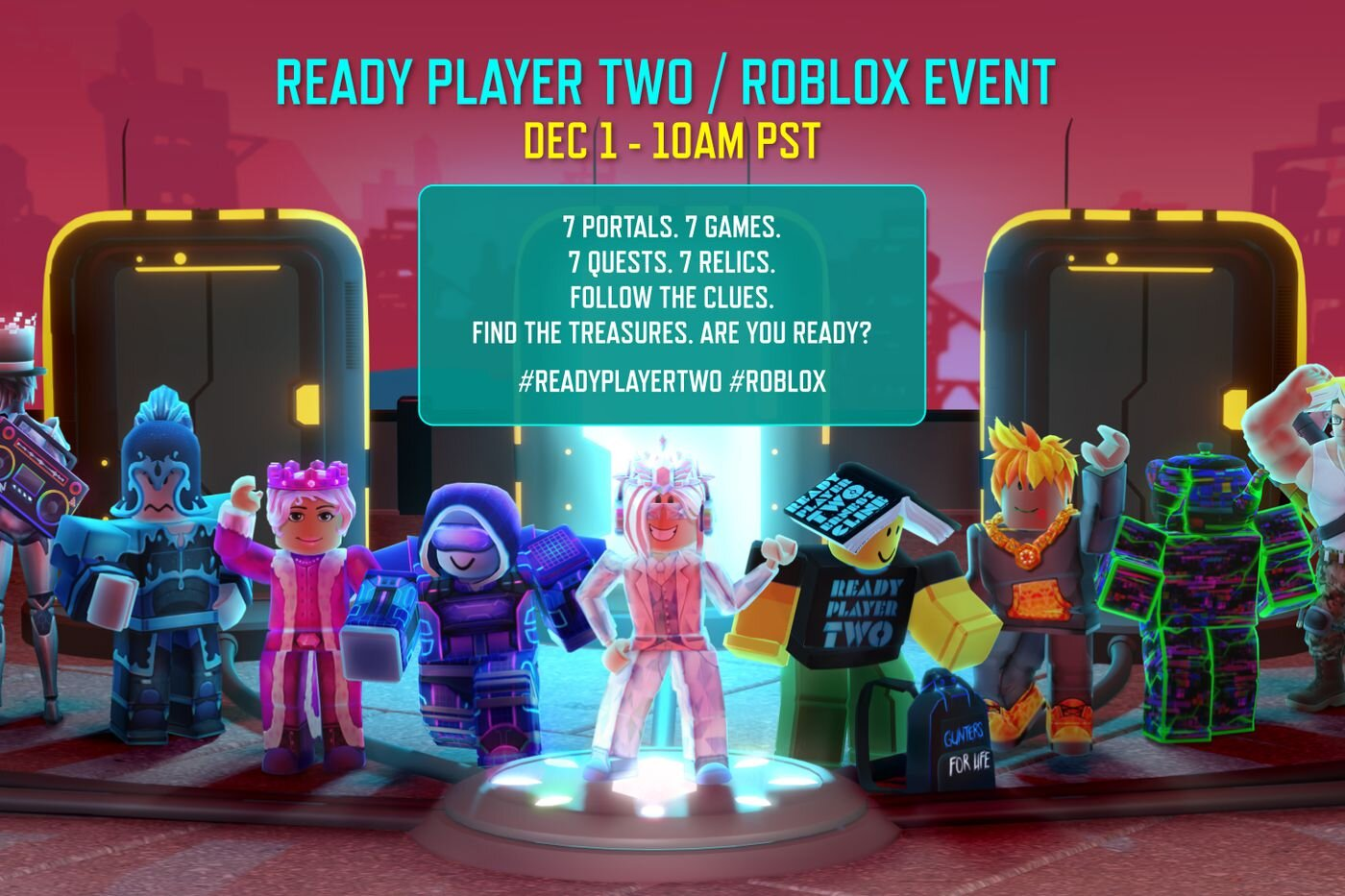 a7wefr6gbhf0om https geektyrant com news ready player two virtual treasure hunt announced by roblox