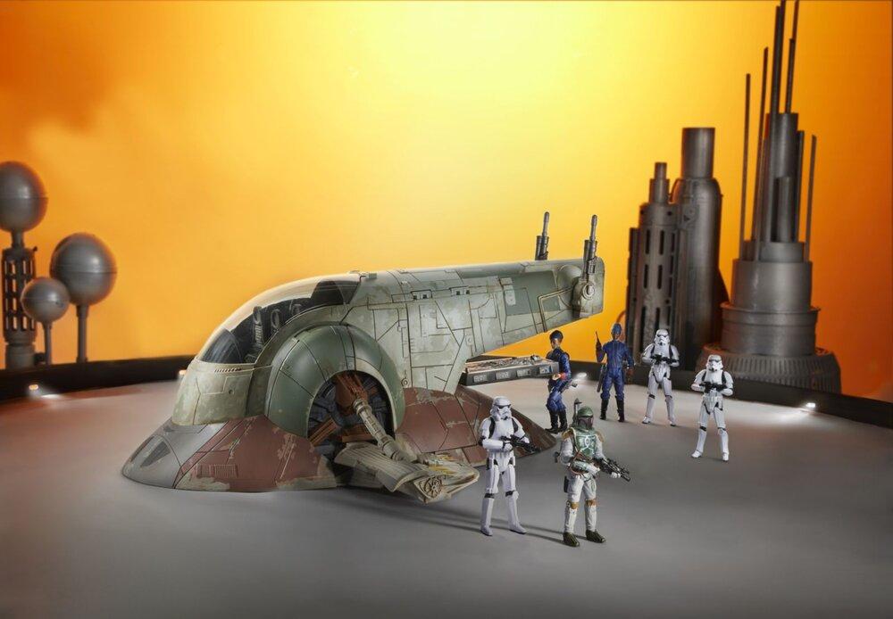 STAR WARS THE VINTAGE COLLECTION BOBA FETT'S SLAVE I Vehicle - oop (7).jpg