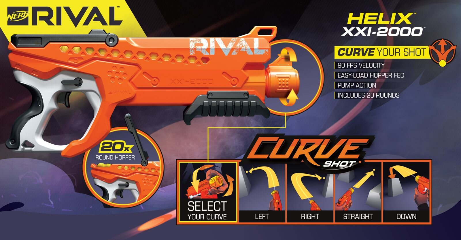 Nerf Now Has Rival Guns That Blast Out Curved Shots!1