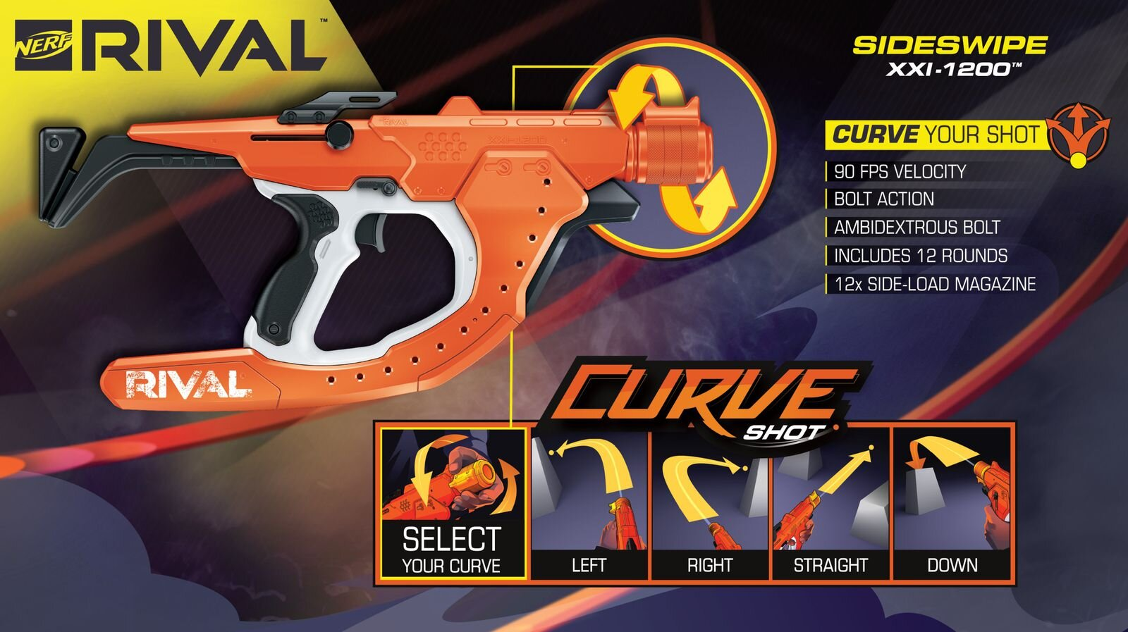 Nerf Now Has Rival Guns That Blast Out Curved Shots!2