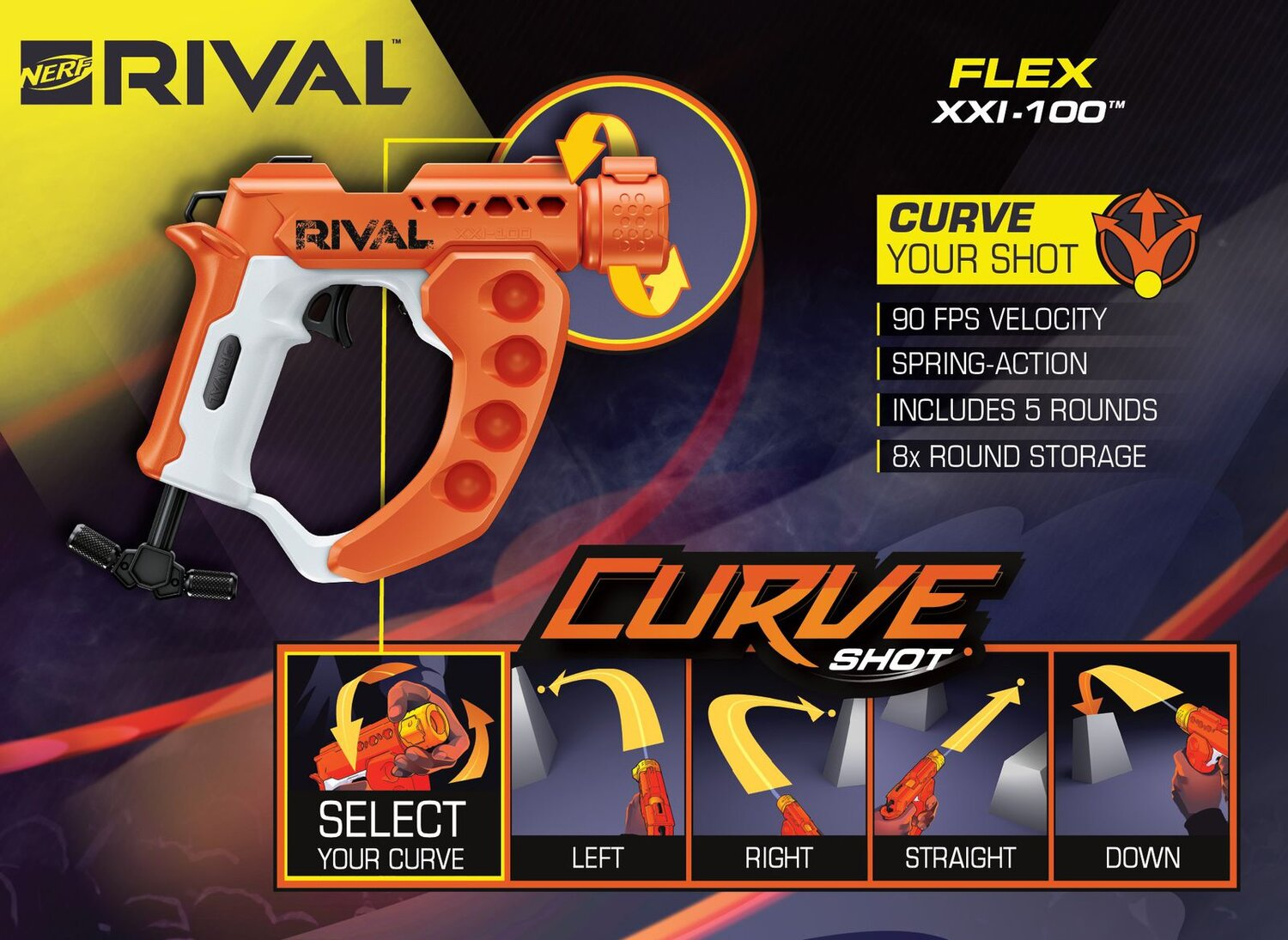 Nerf Now Has Rival Guns That Blast Out Curved Shots!3