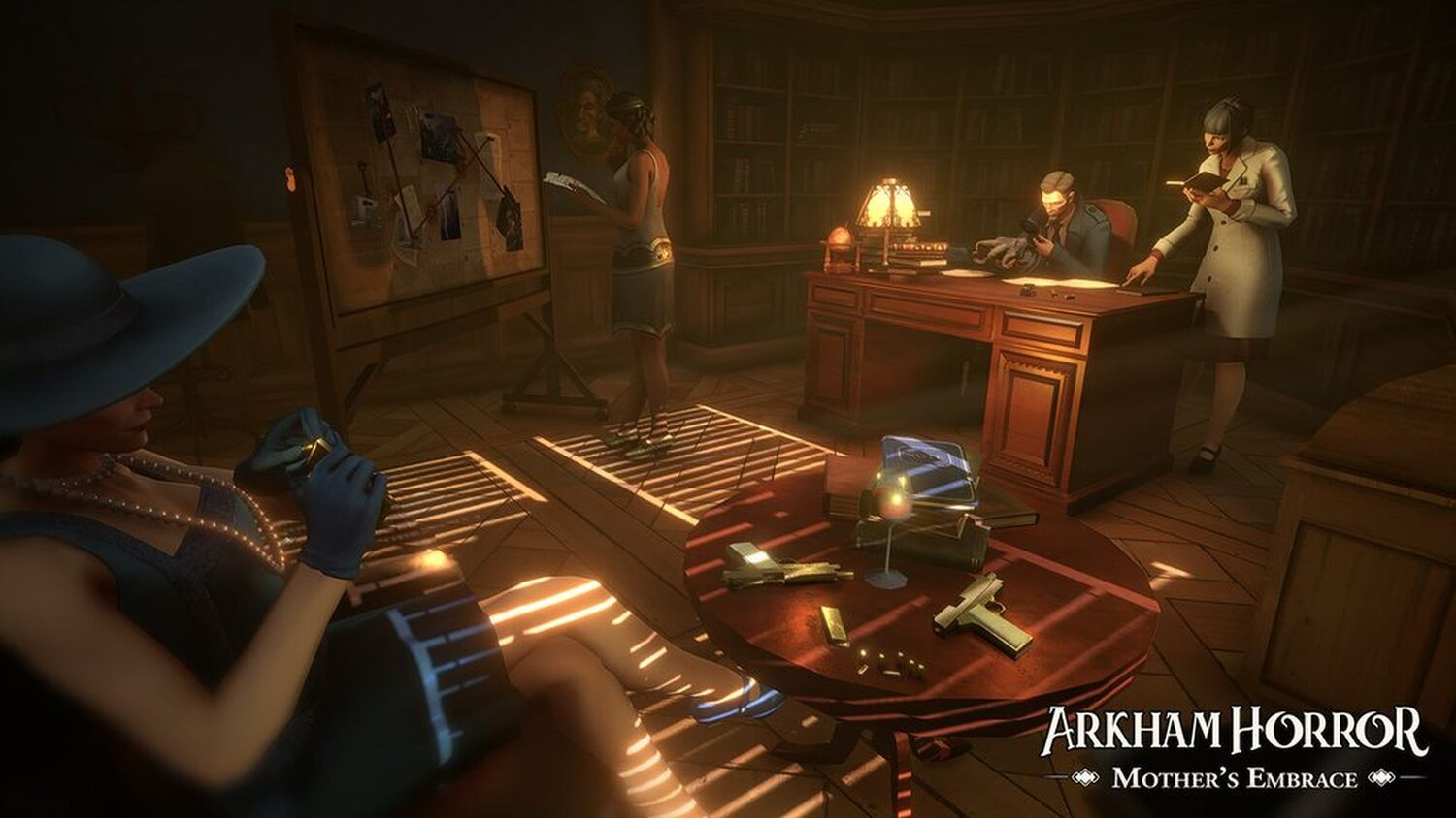 Watch the First Gameplay Trailer for ARKHAM HORROR: MOTHER'S EMBRACE — GeekTyrant