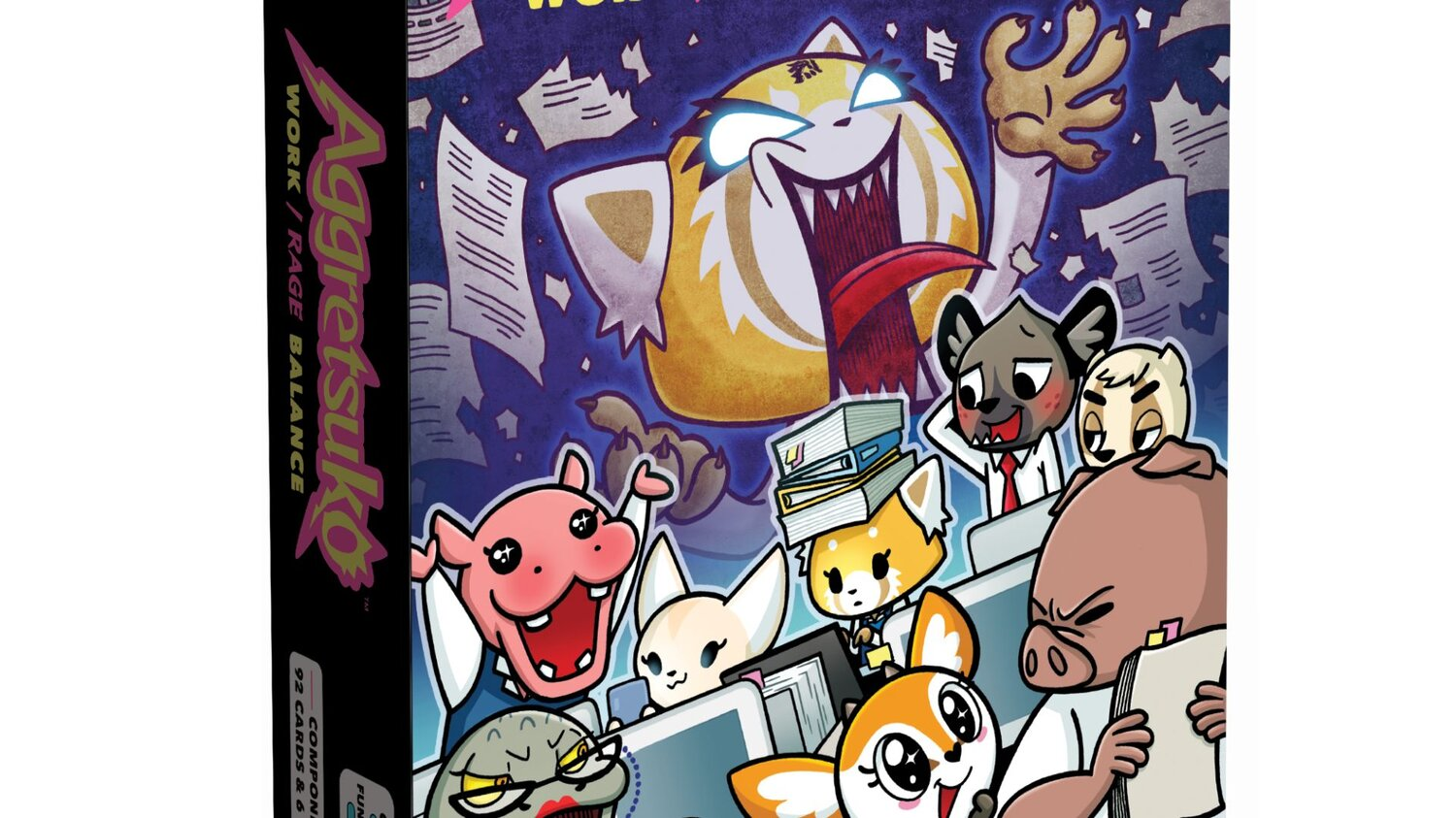 Let Out Your Inner Metal Star with AGGRETSUKO WORK/RAGE BALANCE This Spring — GeekTyrant