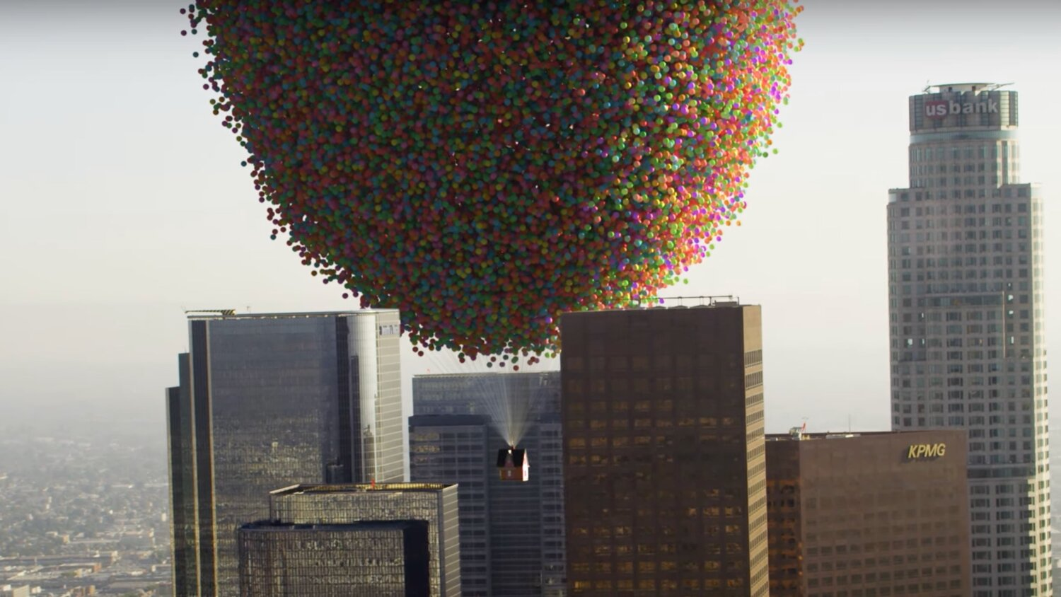 Corridor Crew Simulates The Flying Balloon House in Pixar's UP, But With Real Physics — GeekTyrant