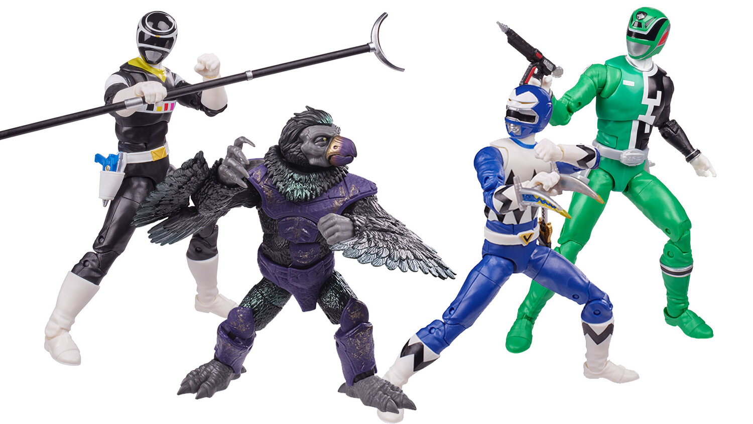 POWER RANGERS Lightning Wave 9 Officially Announced and New DINO FURY Zord Toys Shown Off — GeekTyrant