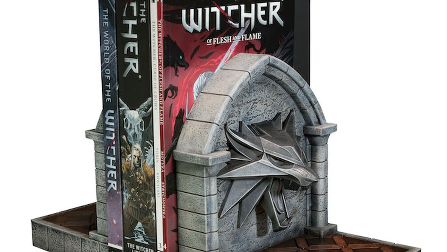WILD HUNT Bookends Are Perfect for Fans — GeekTyrant