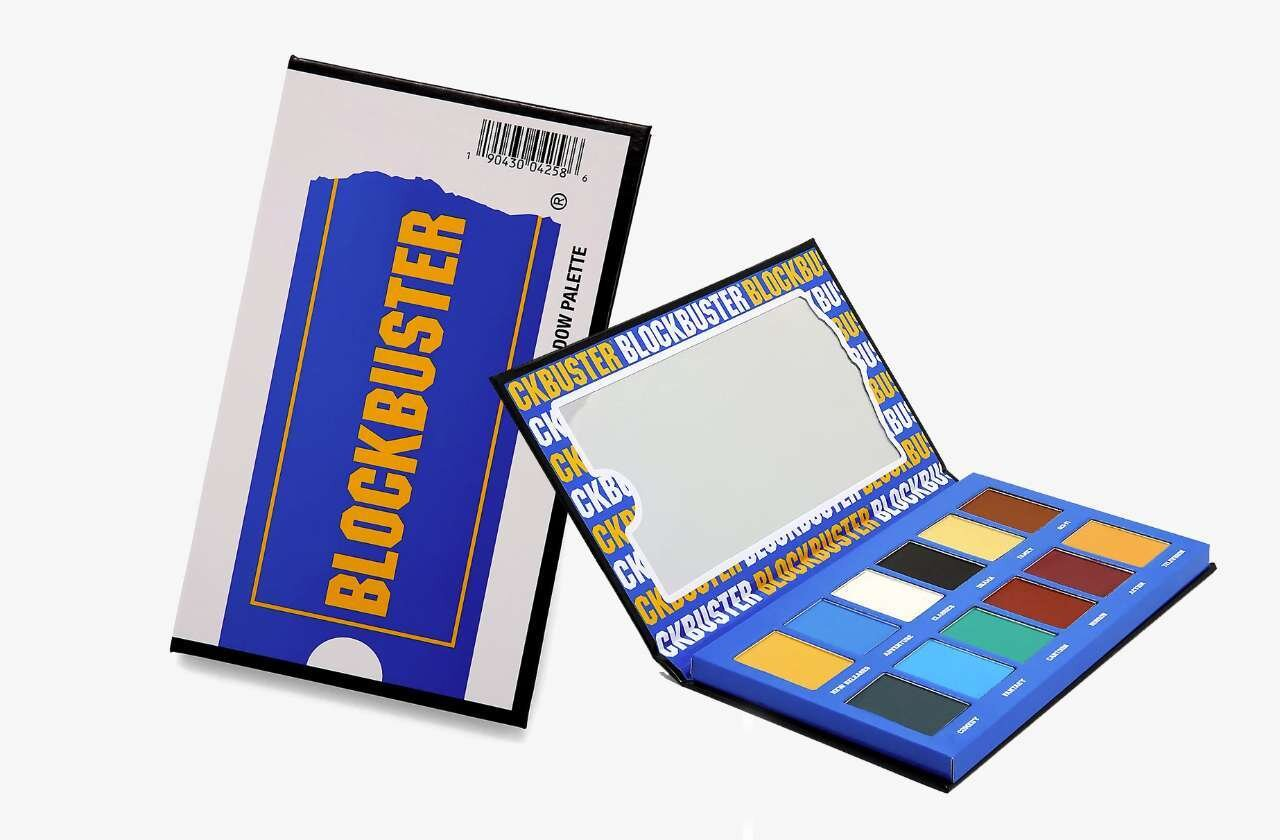 Hot Topic Releases Official Blockbuster Themed Eyeshadow Palette With 12 Nostalgic Inspired Shades — GeekTyrant