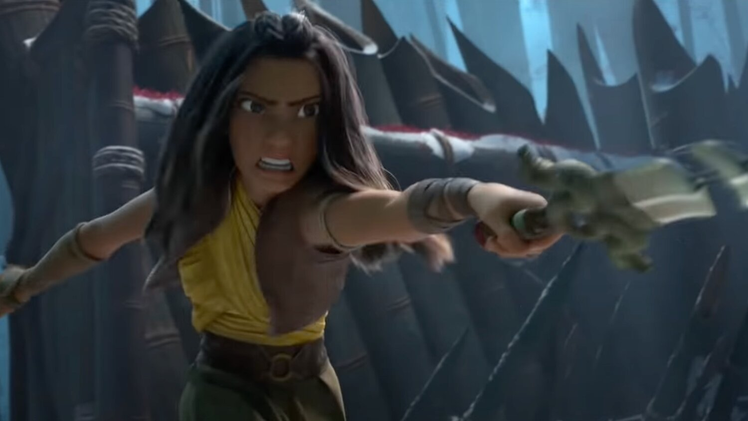 Promo Spot For Disney's RAYA AND THE LAST DRAGON Offers Cool New Footage — GeekTyrant