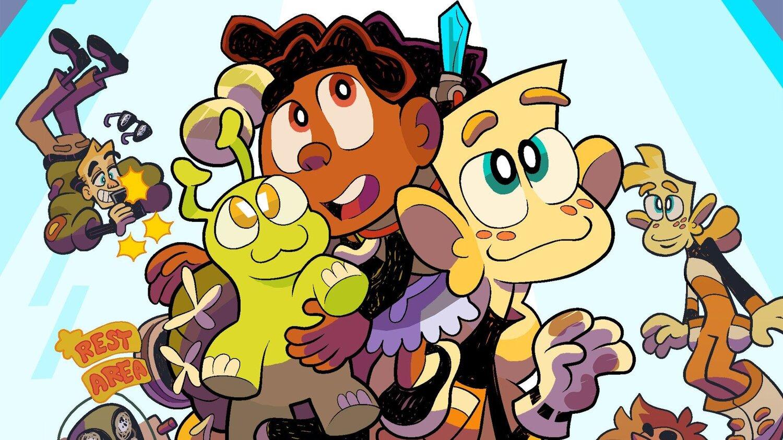 STEVEN UNIVERSE Artist and TEENAGE MUTANT NINJA TURTLES Writer Team Up for New Webcomic REST AREA 51 — GeekTyrant