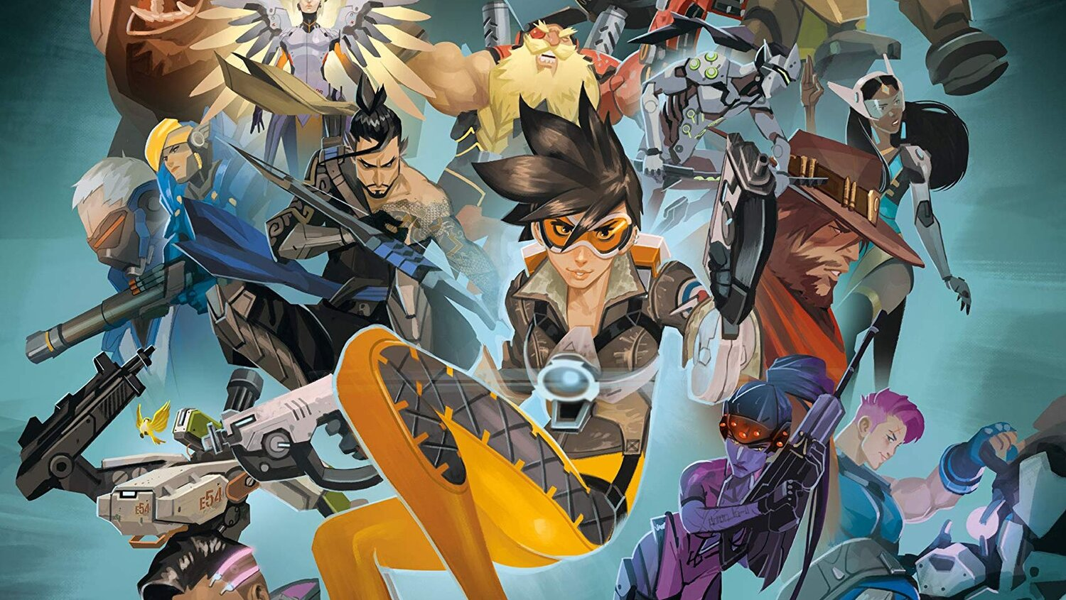 Dive Deep Into the World of OVERWATCH with OVERWATCH ANTHOLOGY: EXPANDED — GeekTyrant
