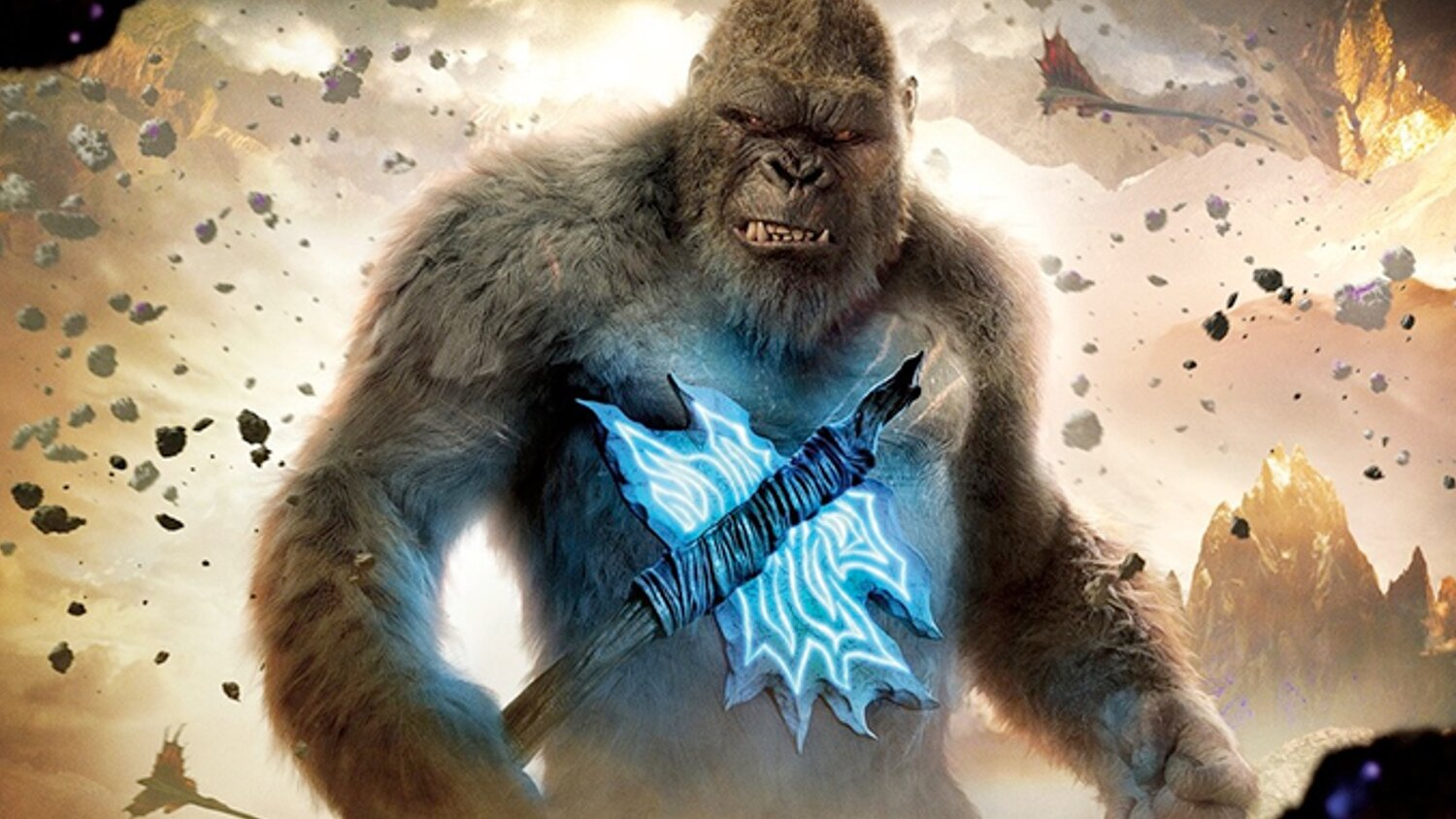 Five New GODZILLA VS. KONG Posters Show That the Titans Are Ready to Fight — GeekTyrant
