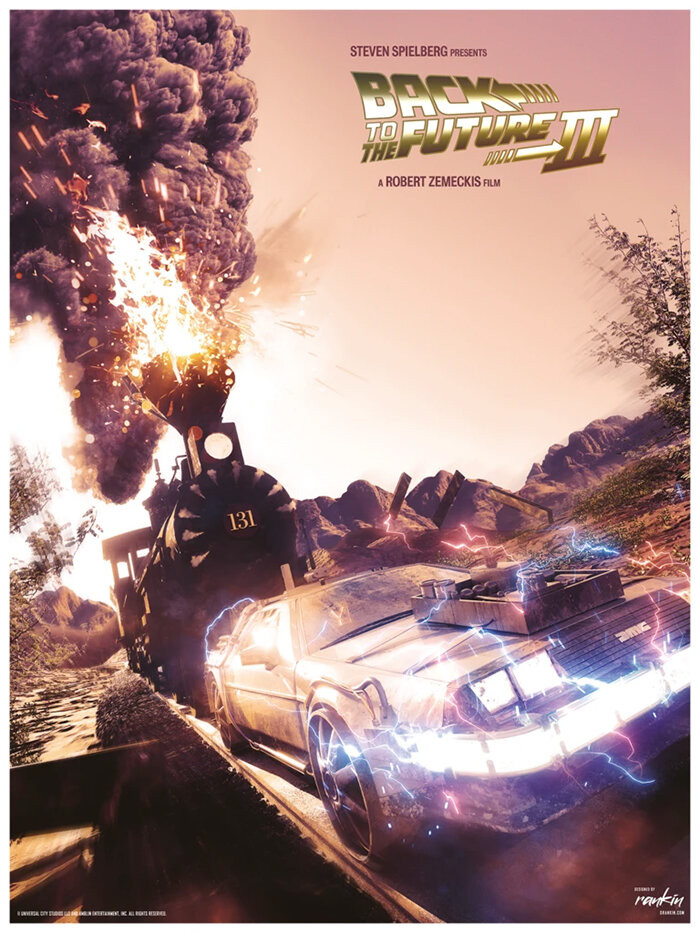 cool-set-of-back-to-the-future-trilogy-poster-art-hits-88-miles-per-hour3