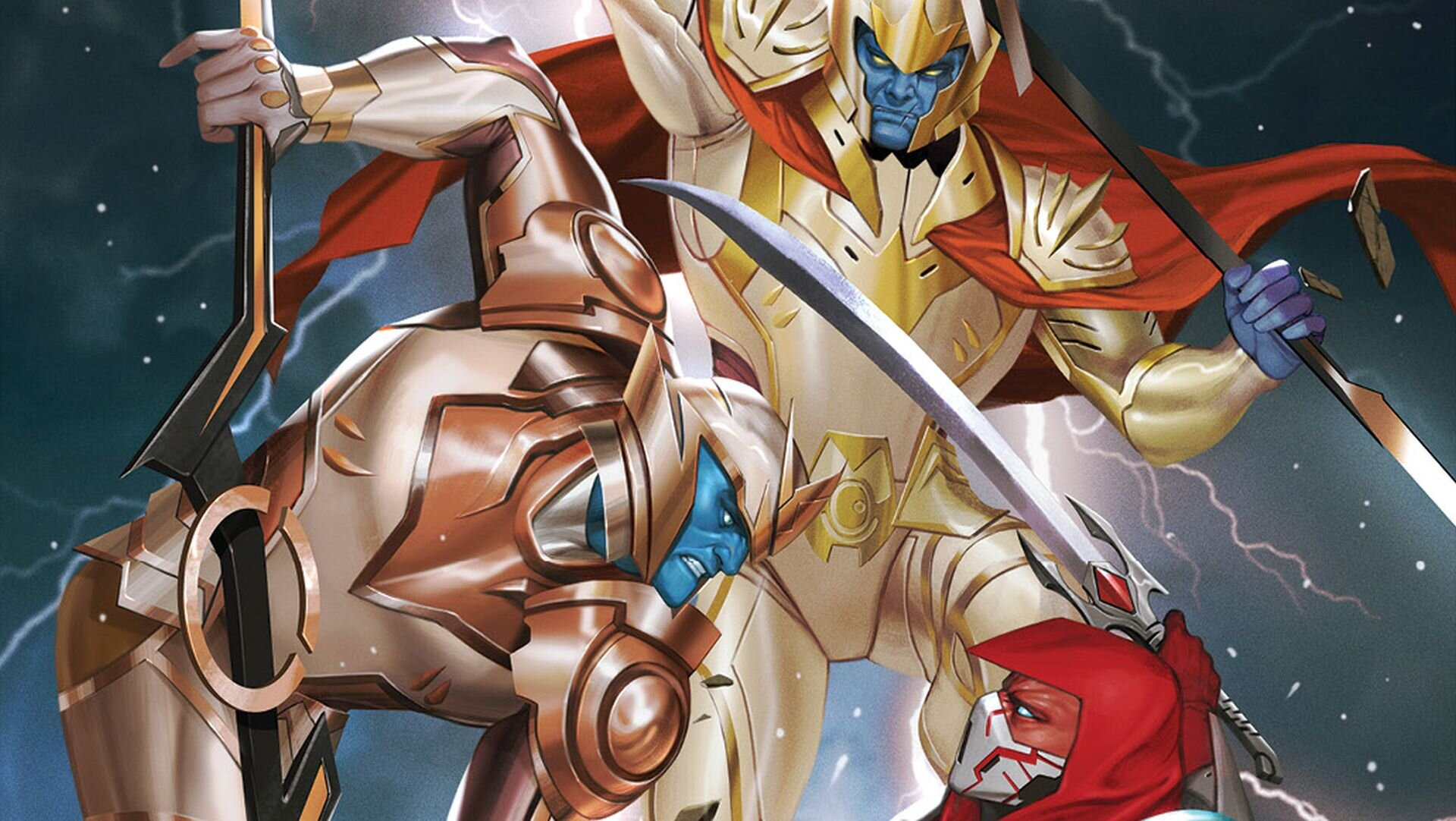 An Assassin Approaches the Zeo Crystal in Preview for MIGHTY MORPHIN #10