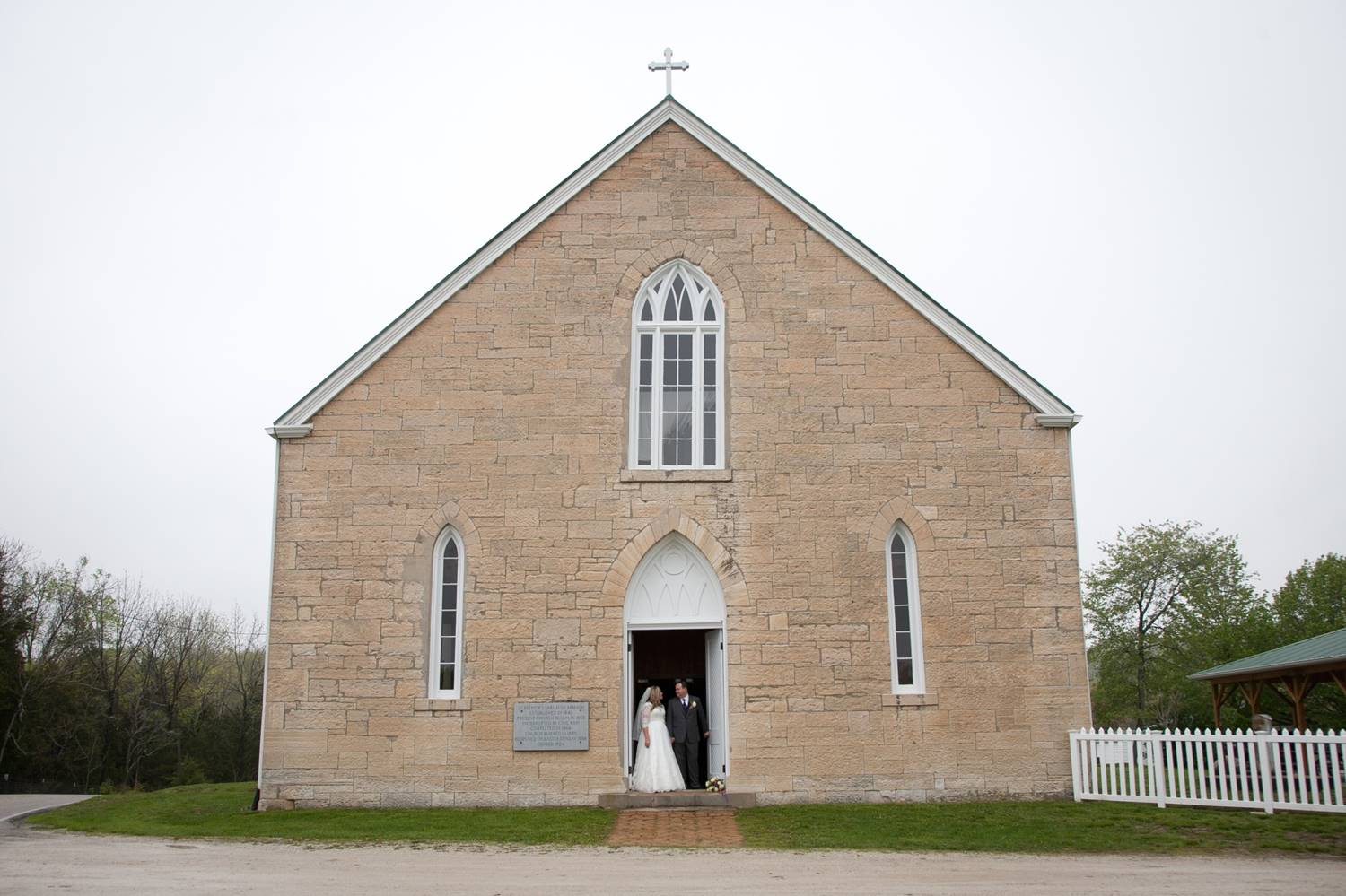 The Old Rock Church in Catawissa, MO (Not at Haue Valley)
