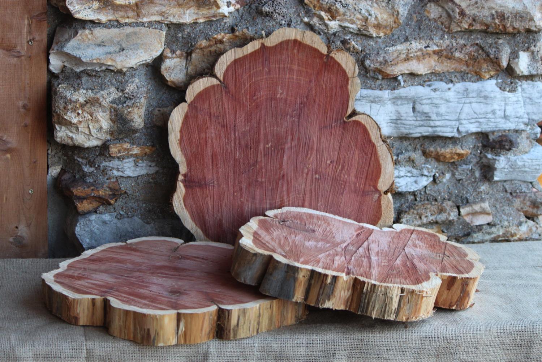 #4 - 25 Wood Slabs