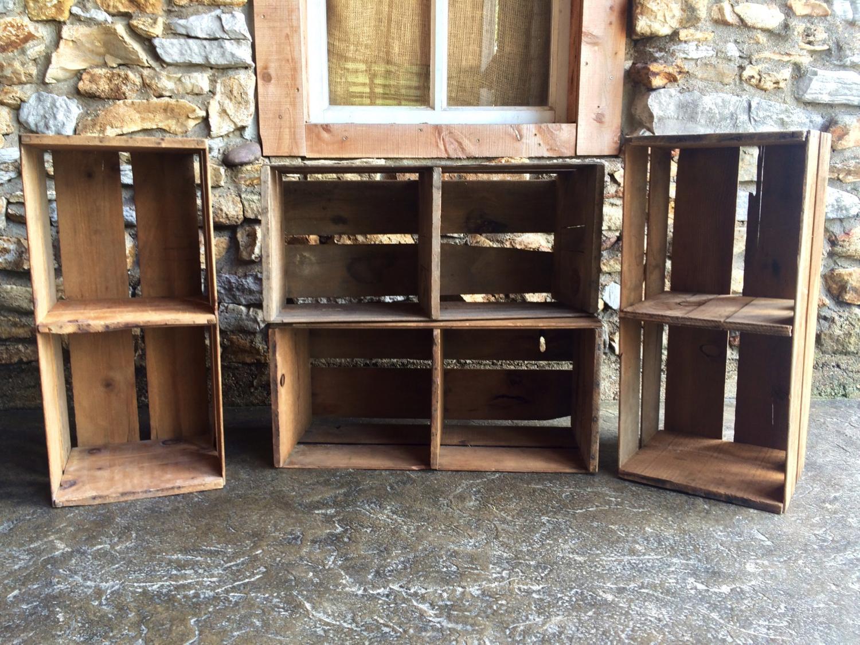 #7 - Wood Crates (Qty 4)
