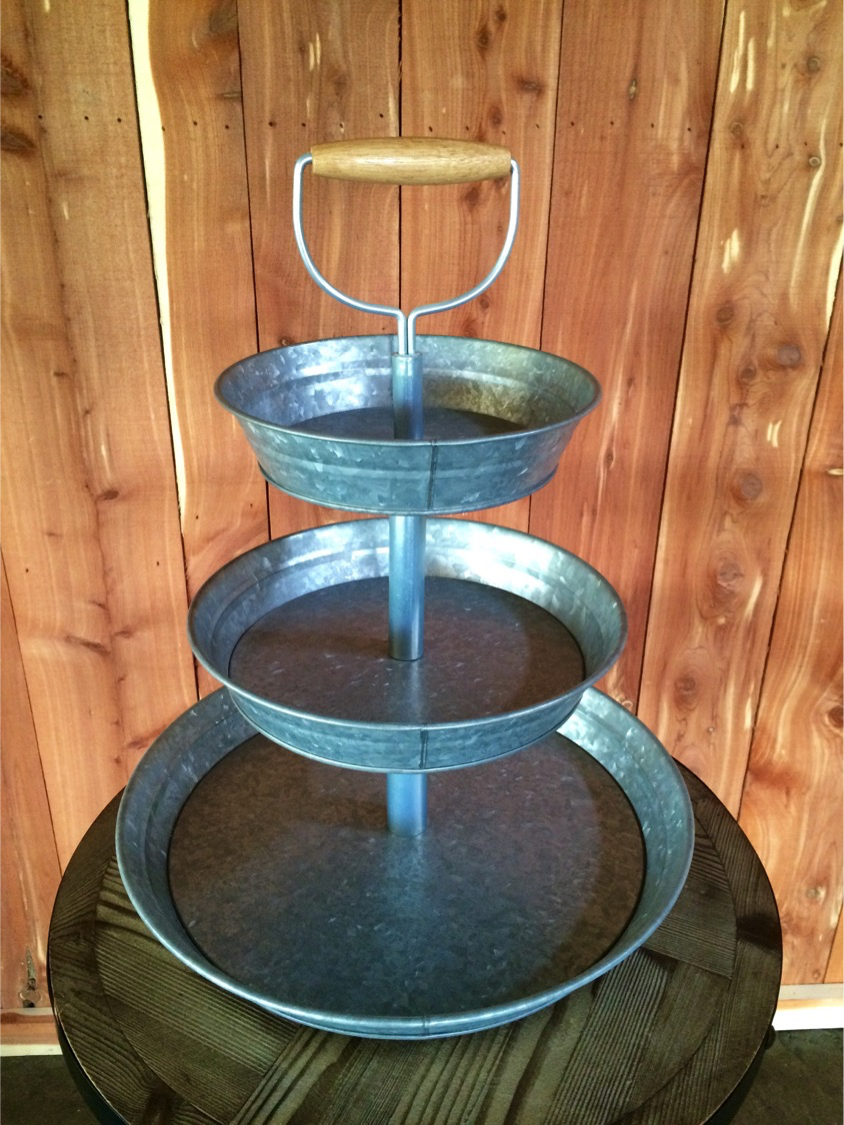 #11 - Three Tier Metal Stand