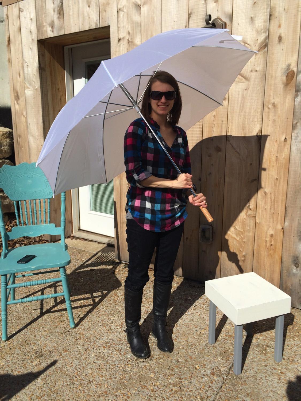 #22 - Extra Large White Umbrella (Qty 5)