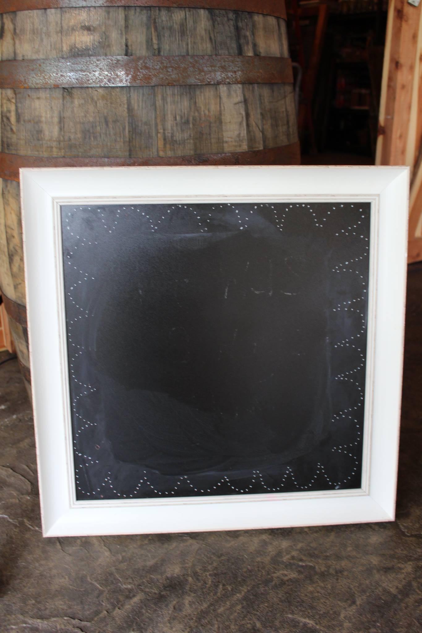 #45 - White Chalkboard