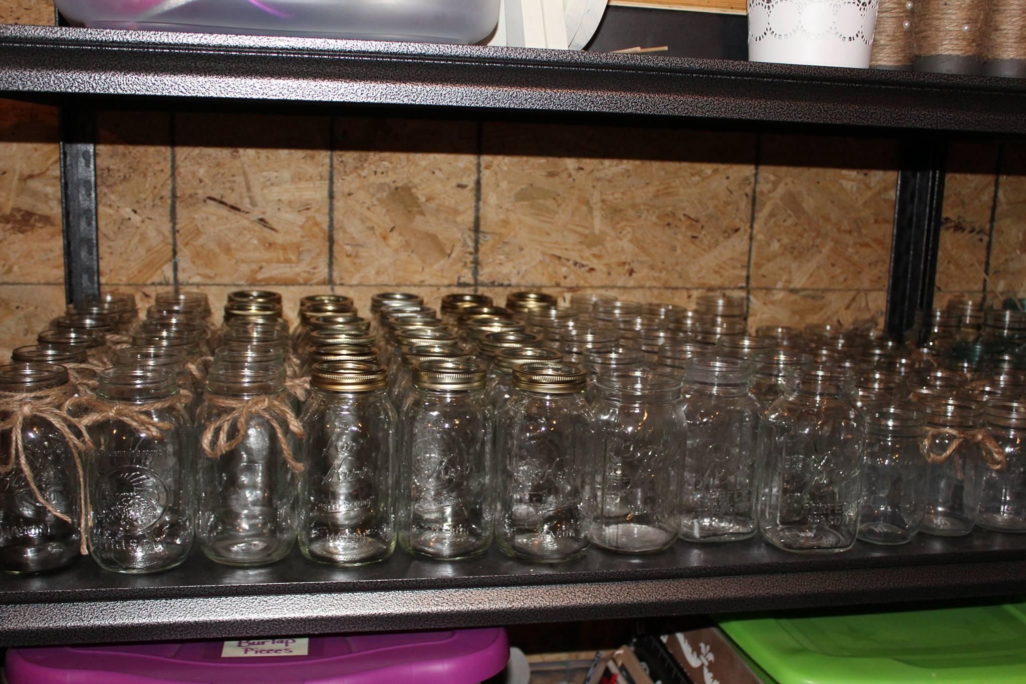 #46 - Clear Mason Jars