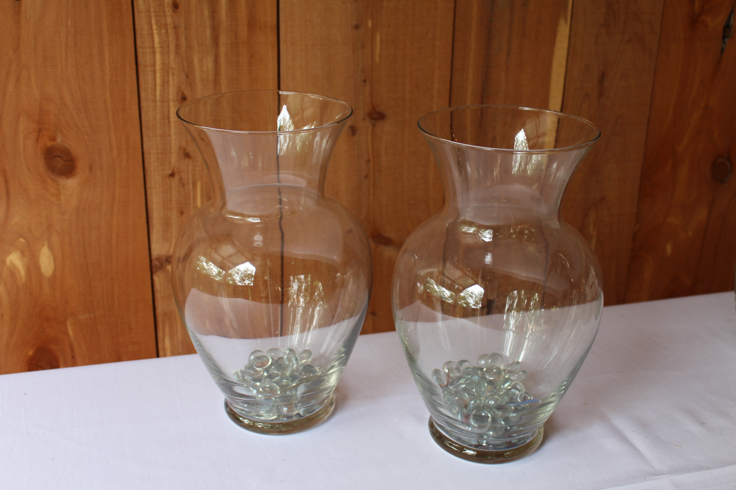 #59 - Tall Glass Vases
