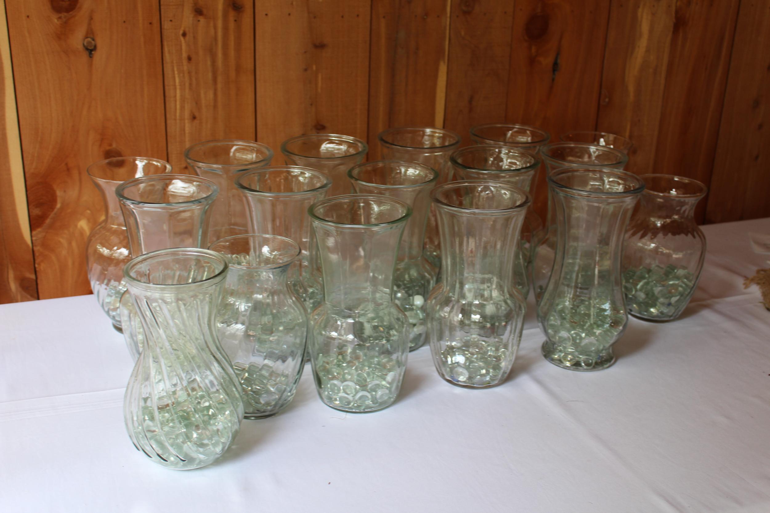 #60 - Medium Glass Vases