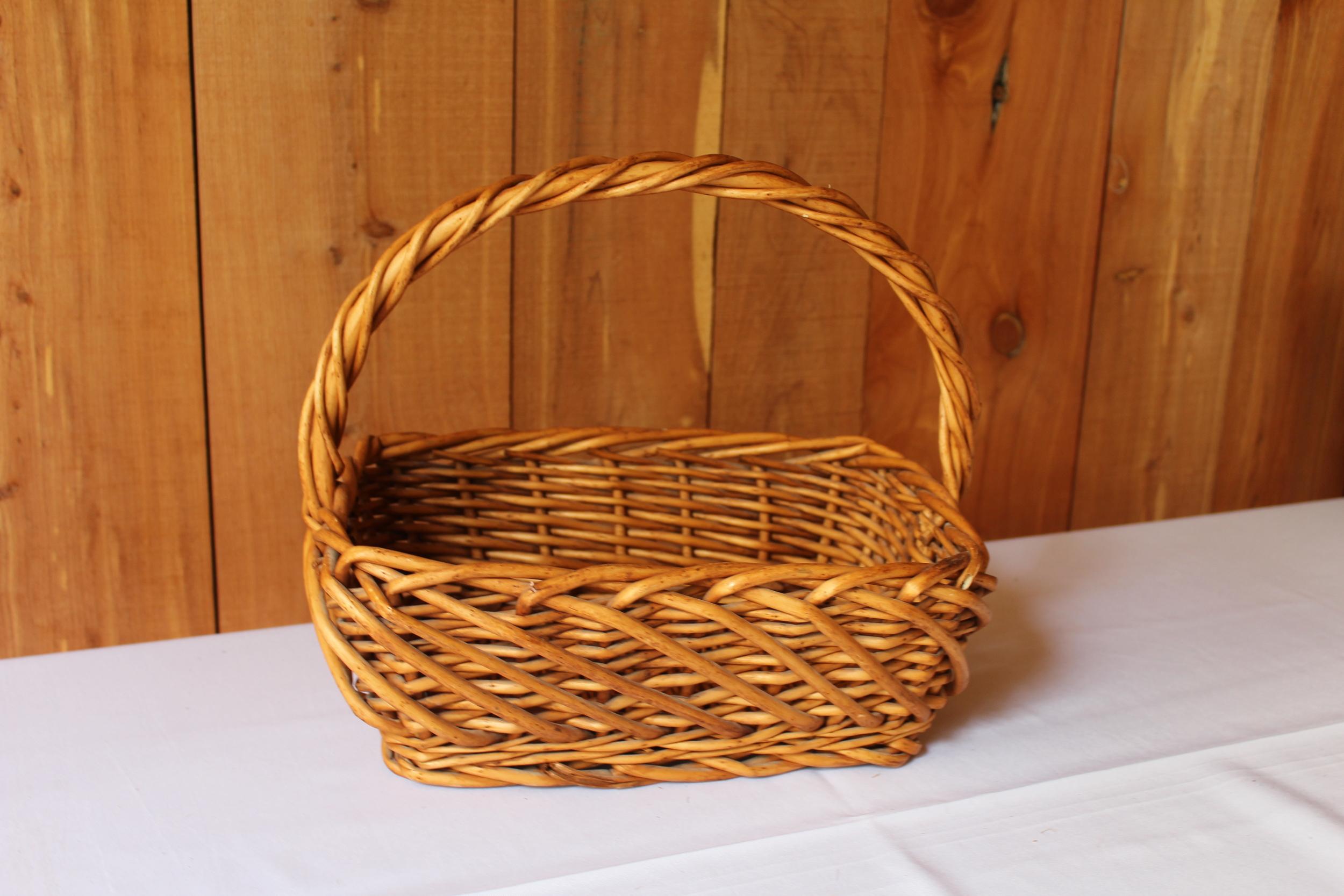 #72 - Wicker Basket
