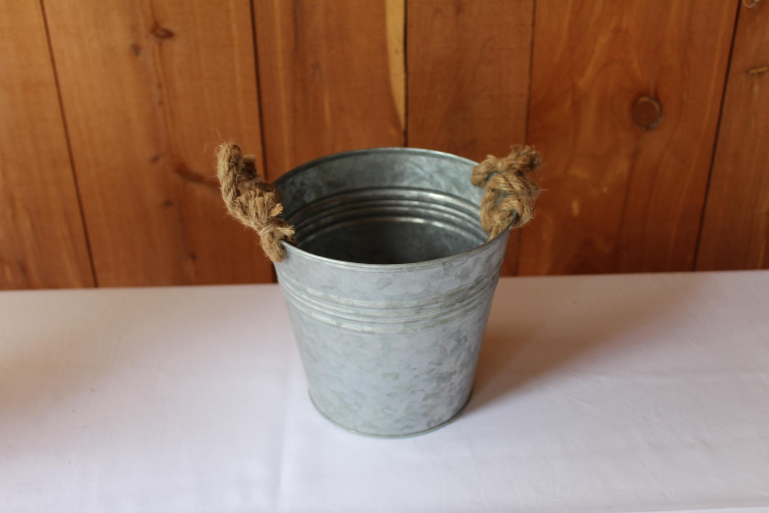 #89 - Small Galvanized Bucket