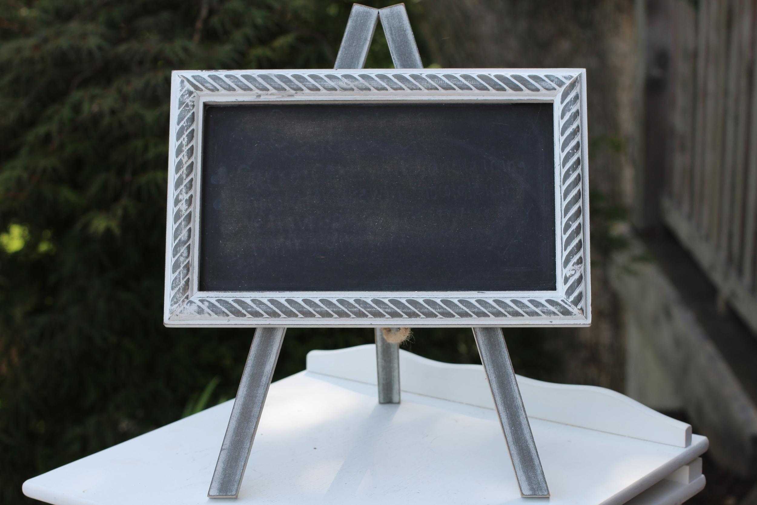 #114 - Small Chalkboard Signs (Qty 3)