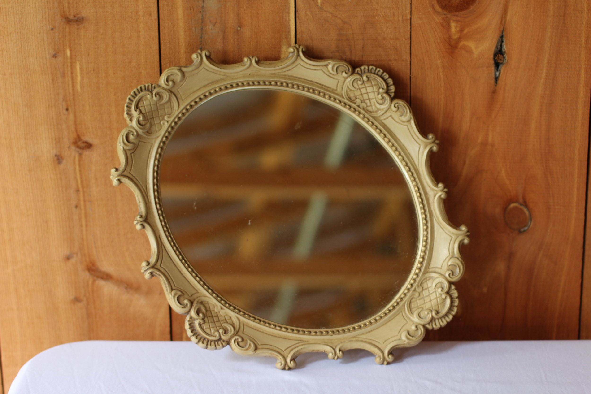 #131 - Oval Mirror