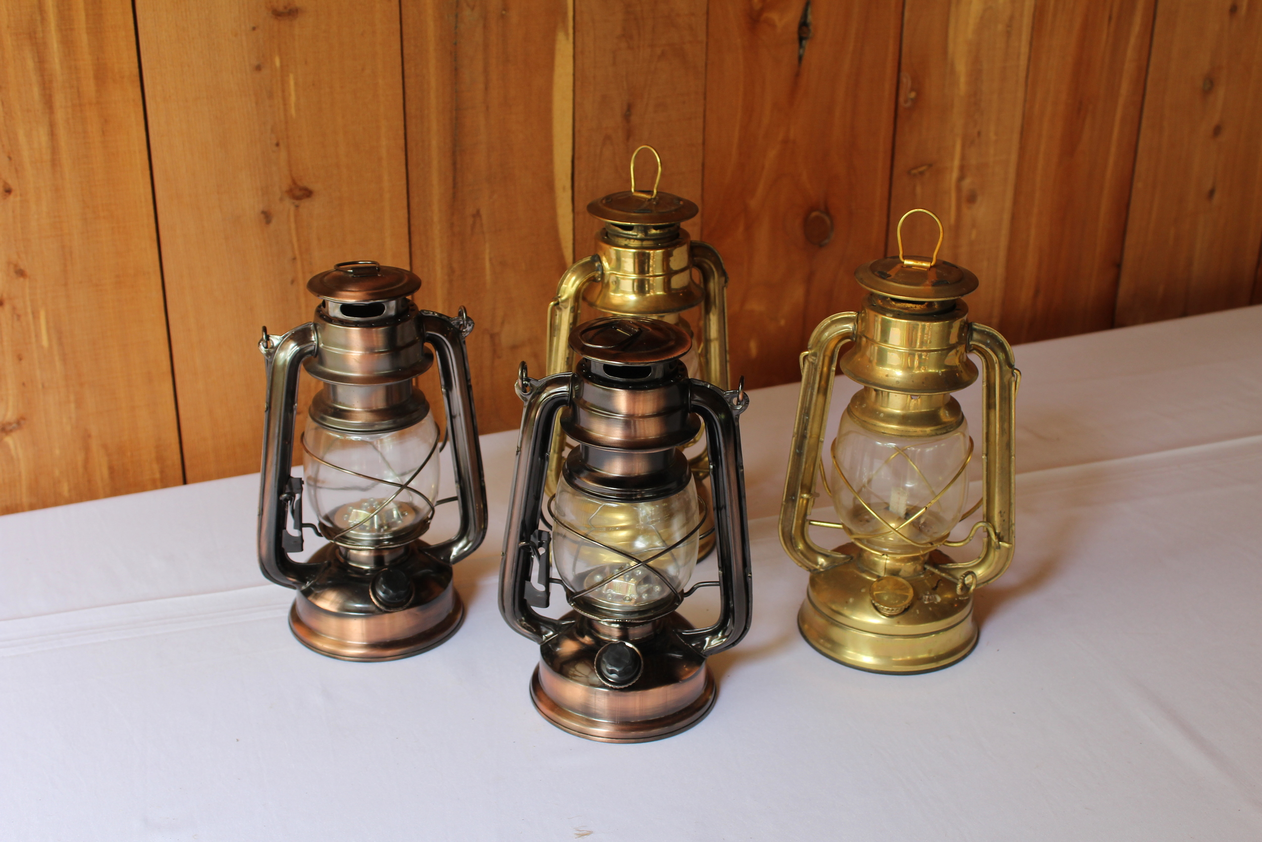 #138 - Rustic Lanterns (Qty 4)