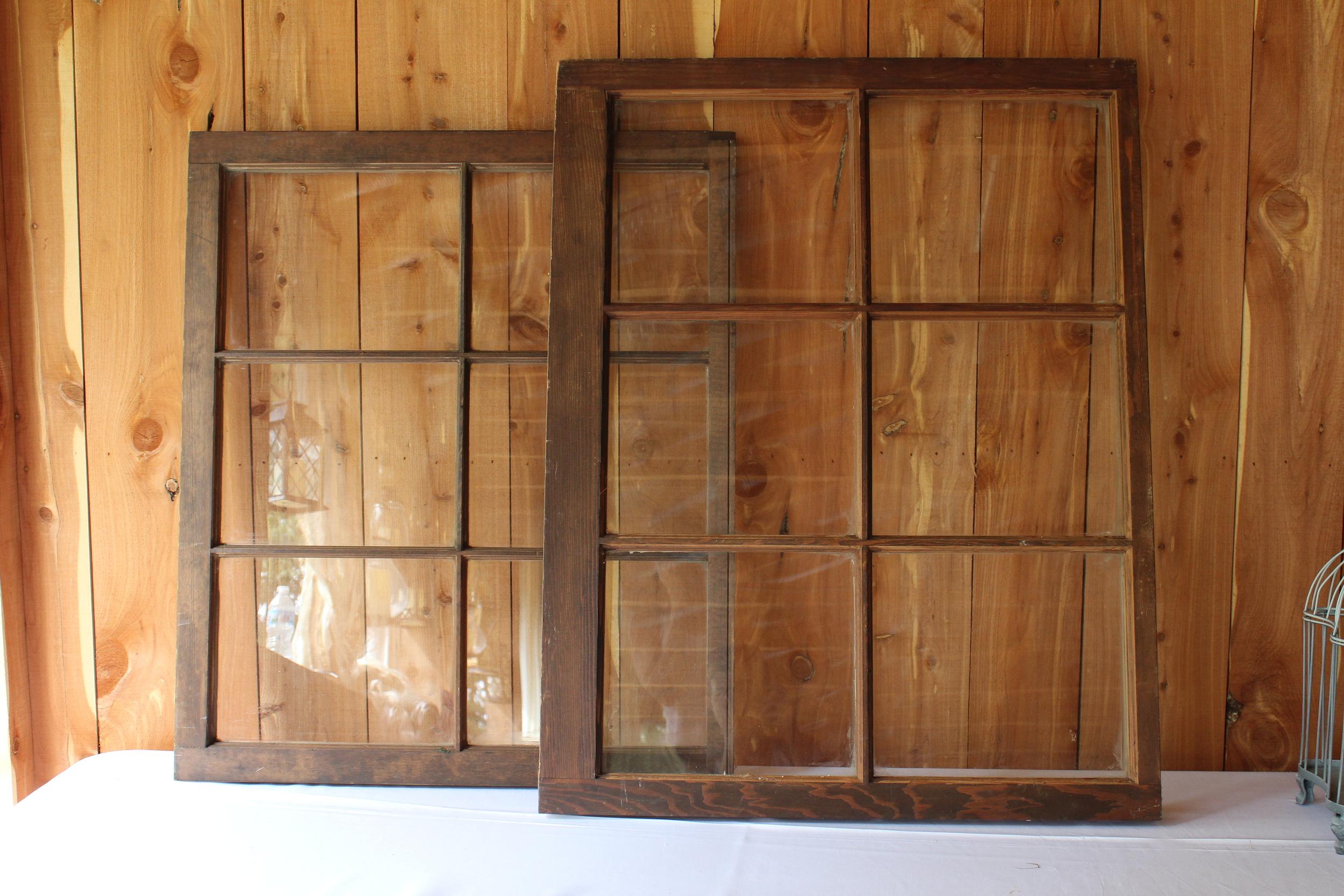 #141 - Brown Windows (QTY 2)
