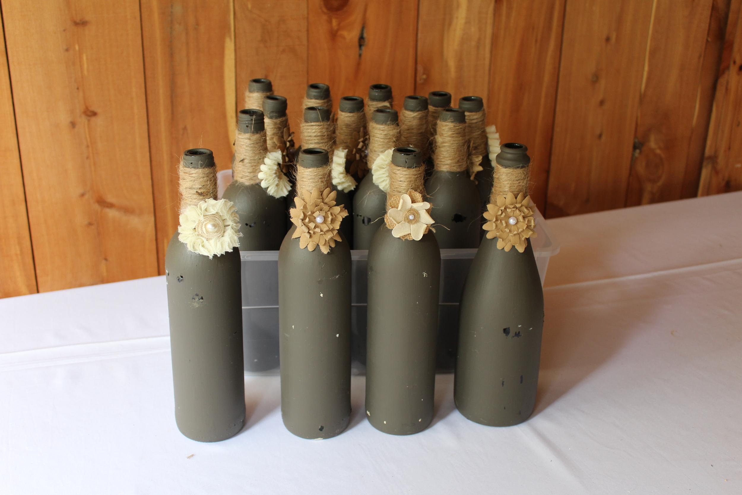 #154 - Grey Bottles - Set Two
