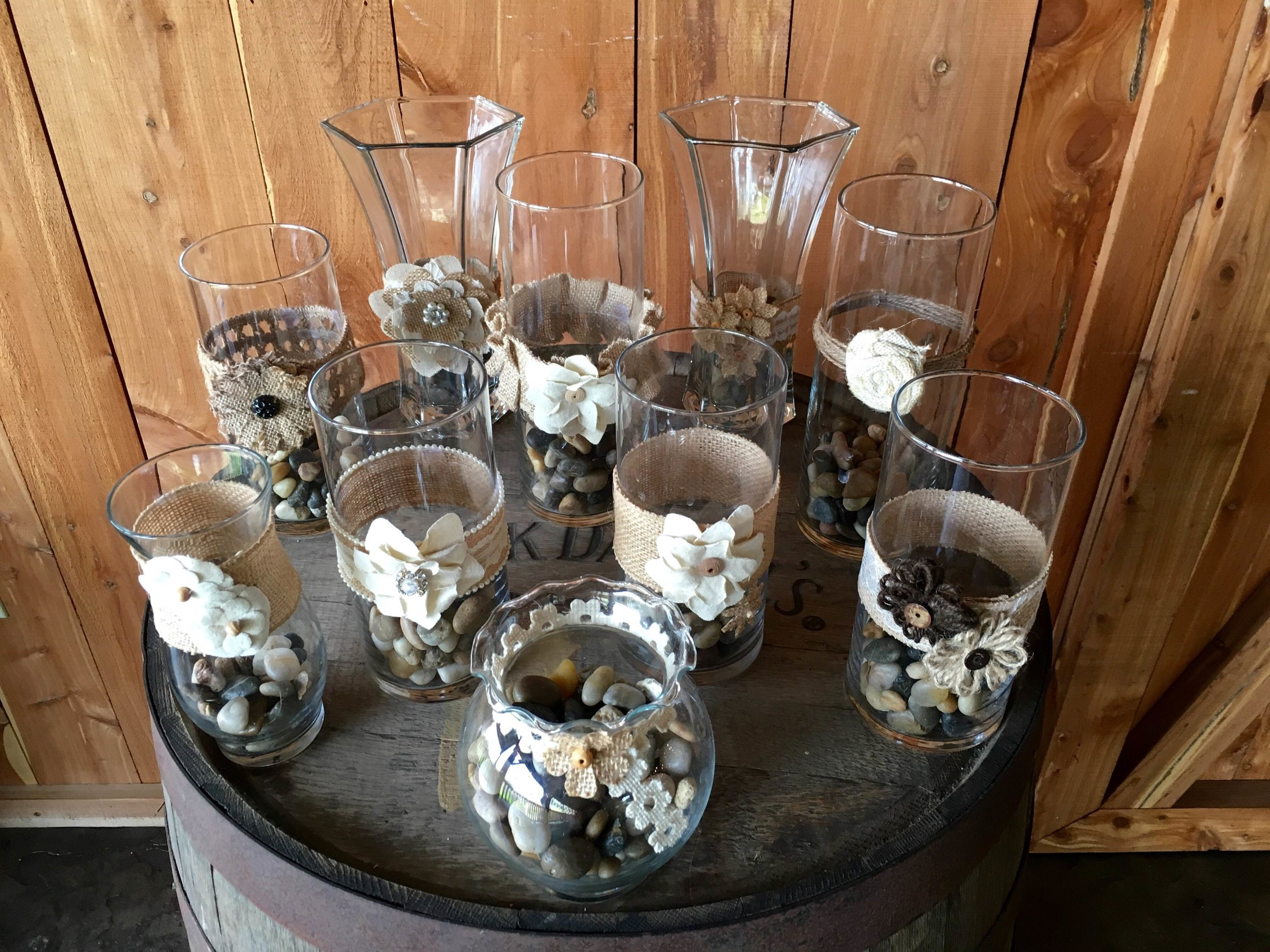 #179 - Rustic Jars and Rocks