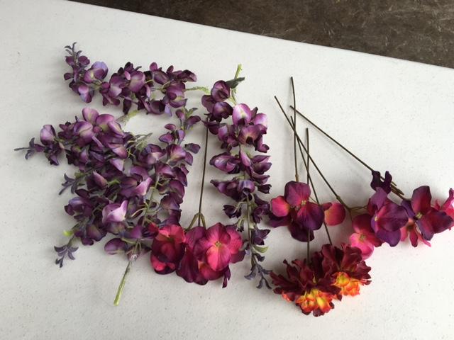 #197 - Purple Floral