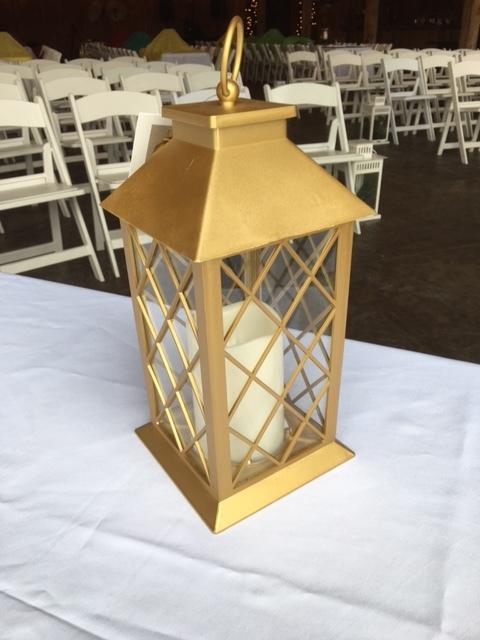 #204 - Gold Lanterns - QTY 28