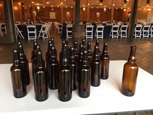 #211 - Brown Beer Bottles (Qty 25)