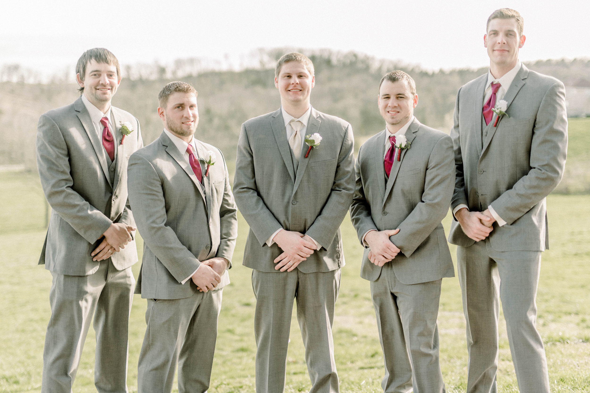 A Swoon-Worthy Spring Wedding at Haue Valley