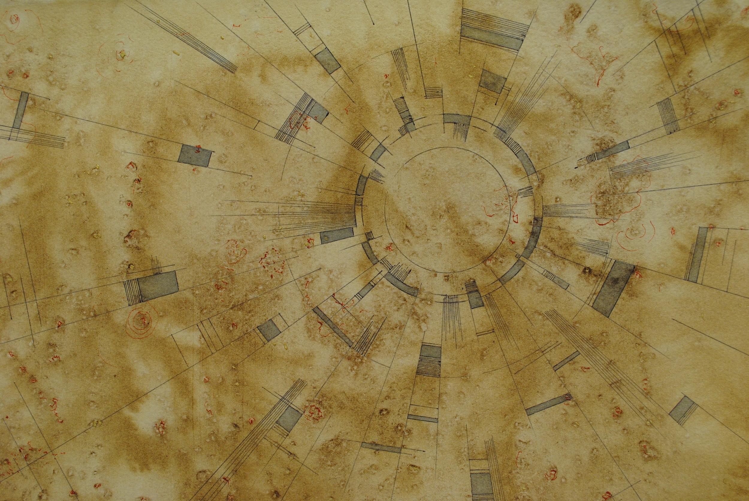 """Detail from """"The Desert"""""""