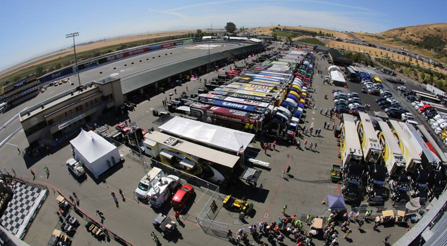Image Courtesy of Sonoma Raceway Facebook Fan Page