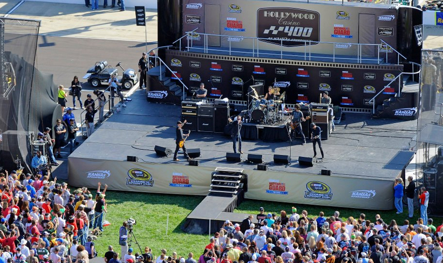 Image Courtesy Kansas Speedway Facebook Fan Page