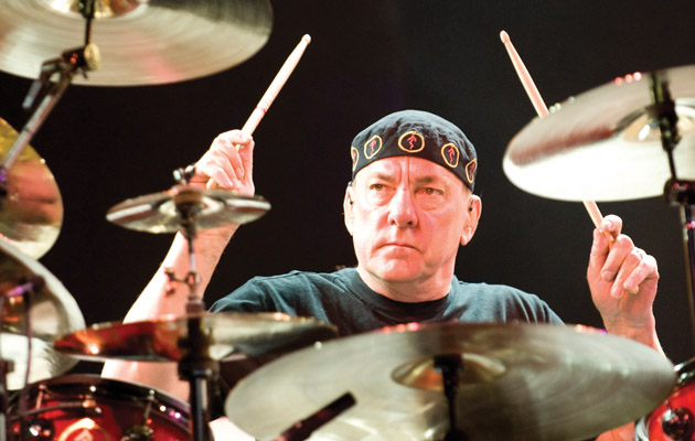 May 4, 2008 – Concord, California, USA – NEIL PEART of RUSH live at Concord Pavilion. (Credit Image: © Jerome Brunet/ZUMA Press)