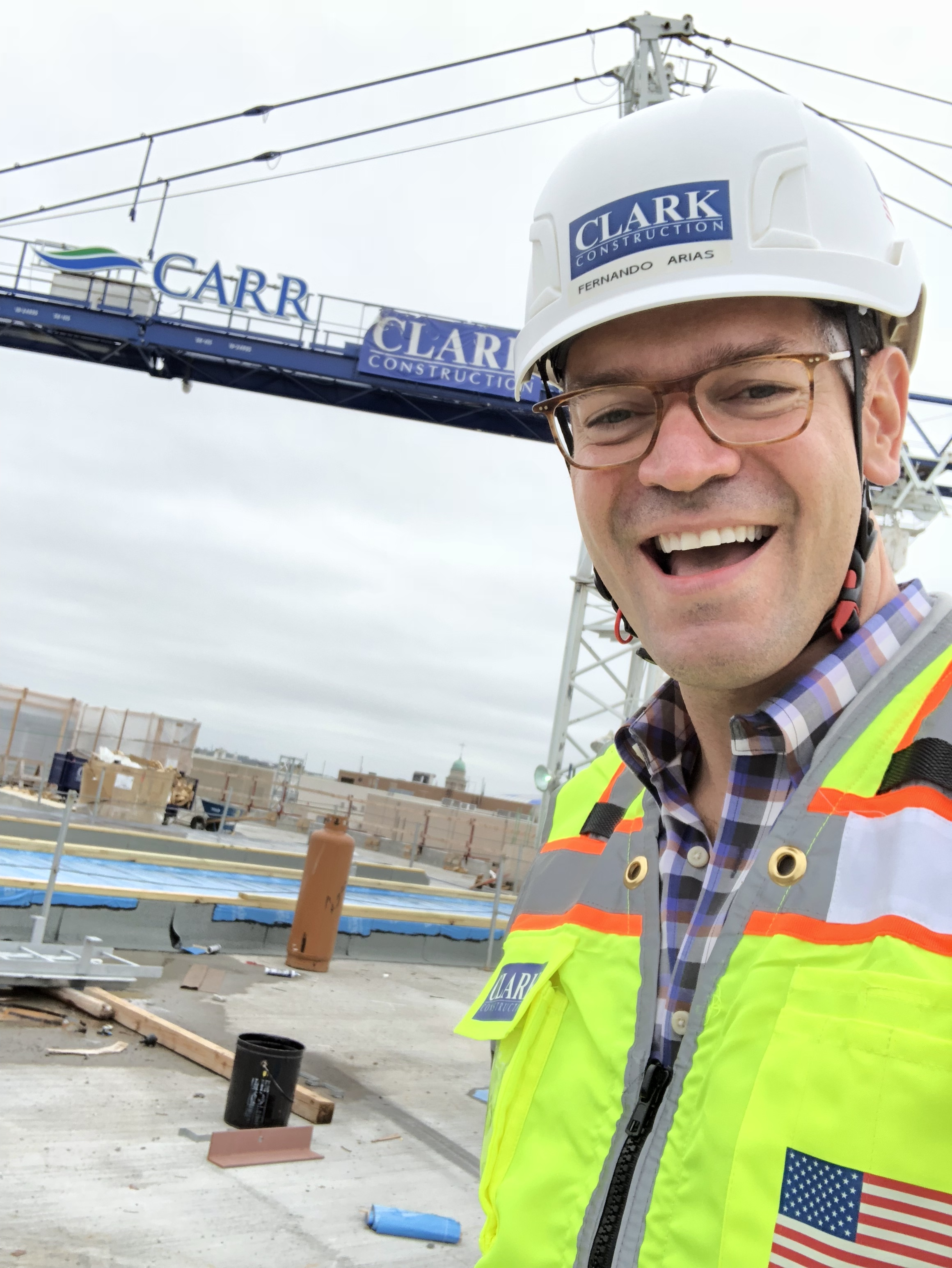Fernando Arias Clark Construction Group
